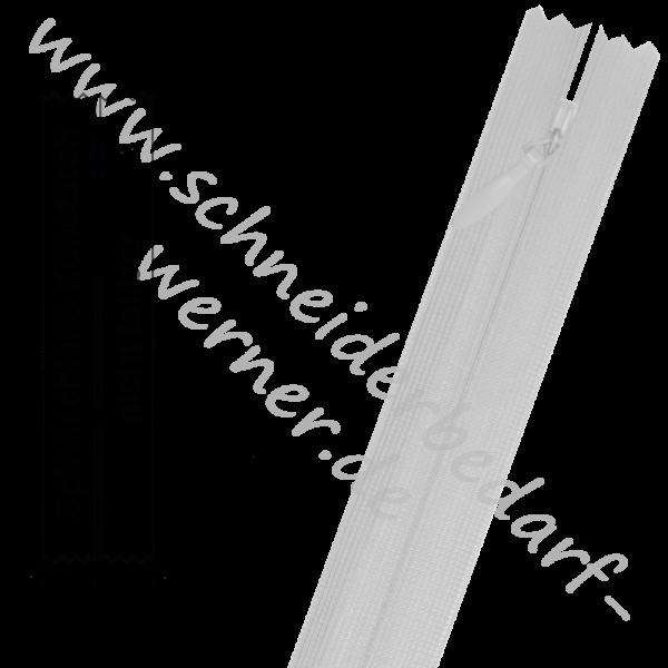 3 mm - Nahtverdeckter Reißverschluss (Spiralschiene) - 1-Weg - Nicht Teilbar