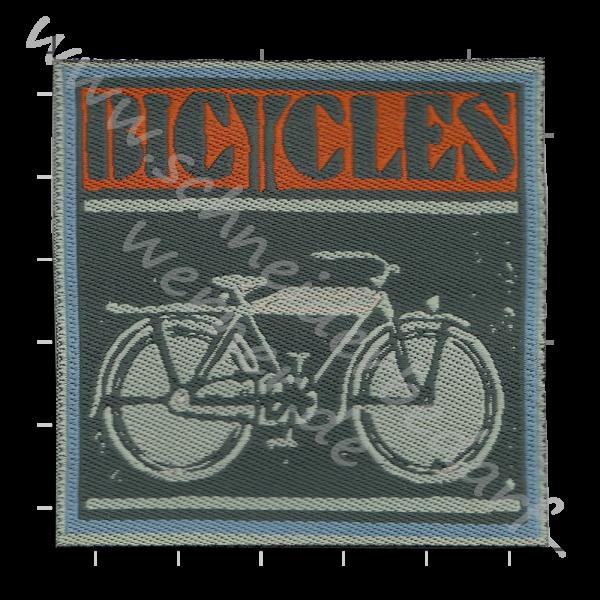 Motiv-Flicken zum Aufbügeln (Bicycles)