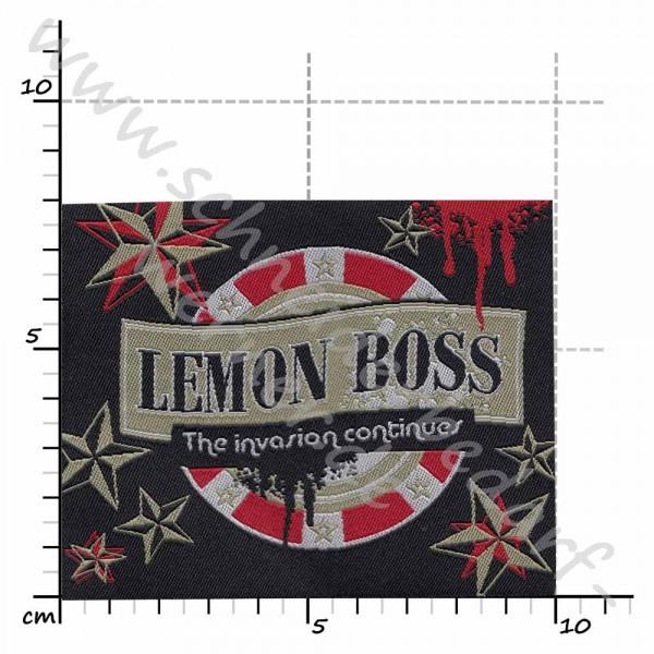 Motiv-Flicken zum Aufbügeln (Lemon Boss)