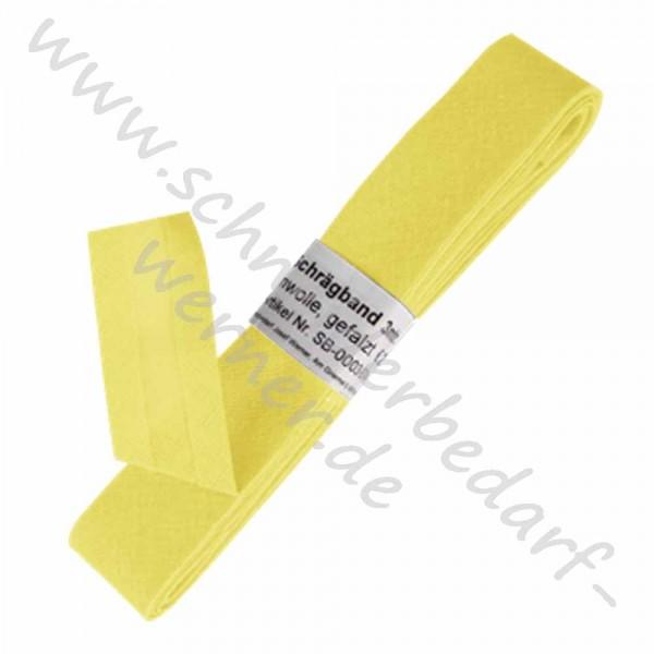 RESTE: Baumwoll-Schrägband 20 mm breit