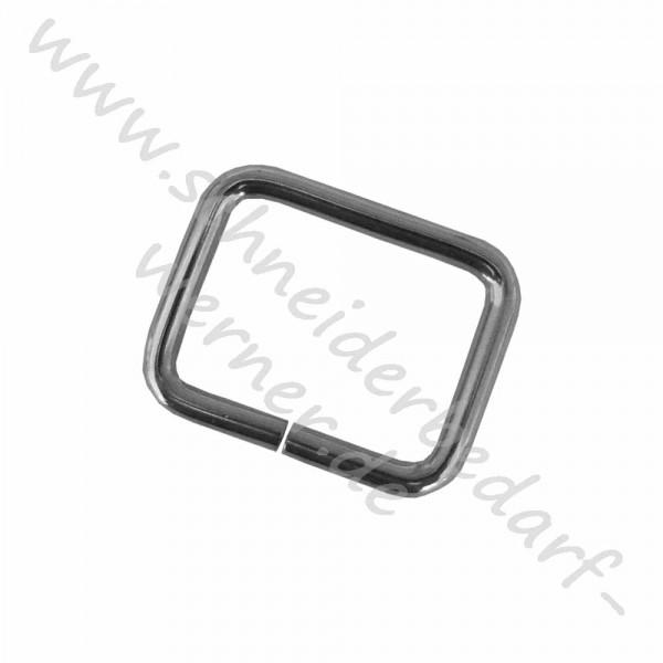 Vierkantring für Gurtband (Metall)