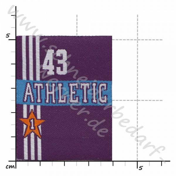 Motiv-Flicken zum Aufbügeln (43 Athletic)