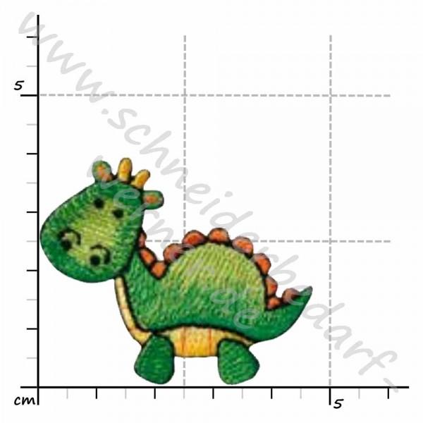 Applikation zum Aufbügeln (Dino grün)