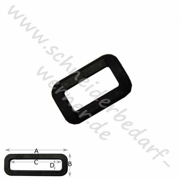 Ovalring für Gurtband (Kunststoff)