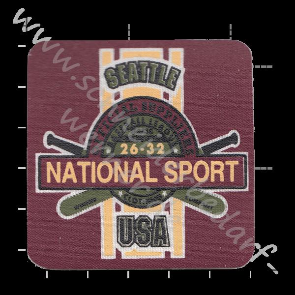 Motiv-Flicken zum Aufbügeln (National Sport)