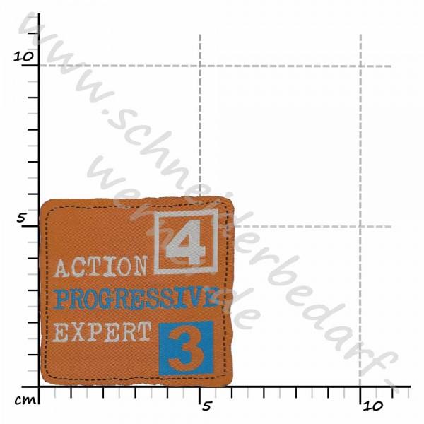 Motiv-Flicken zum Aufbügeln (Action 4)