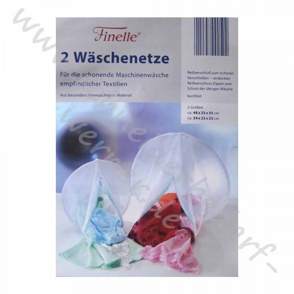 Wäschenetze mit Reißverschluss (2 Stück)