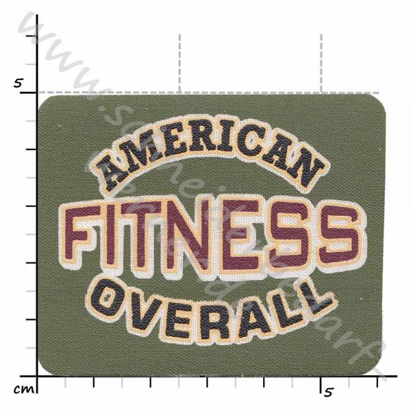 Motiv-Flicken zum Aufbügeln (Fitness)