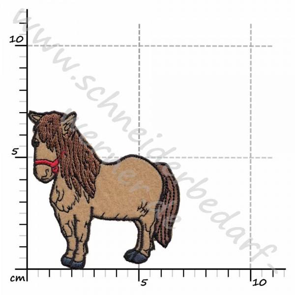 Applikation zum Aufbügeln (Pony)