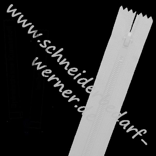 3 mm (extra fein) - Reißverschluss Spiralschiene (Kunststoff) - 1-Weg - Teilbar