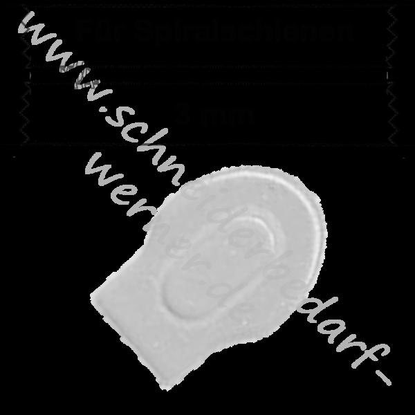 3 mm - Zipper/Schieber für Spiralschiene