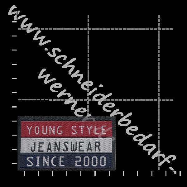 Motiv-Flicken zum Aufbügeln (Young Style)