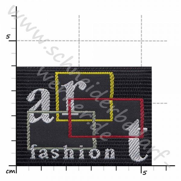 Motiv-Flicken zum Aufbügeln (Art Fashion)