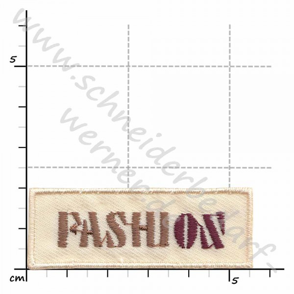 Motiv-Flicken zum Aufbügeln (Fashion)