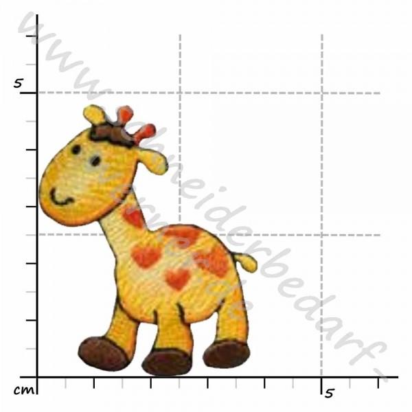 Applikation zum Aufbügeln (Giraffe)