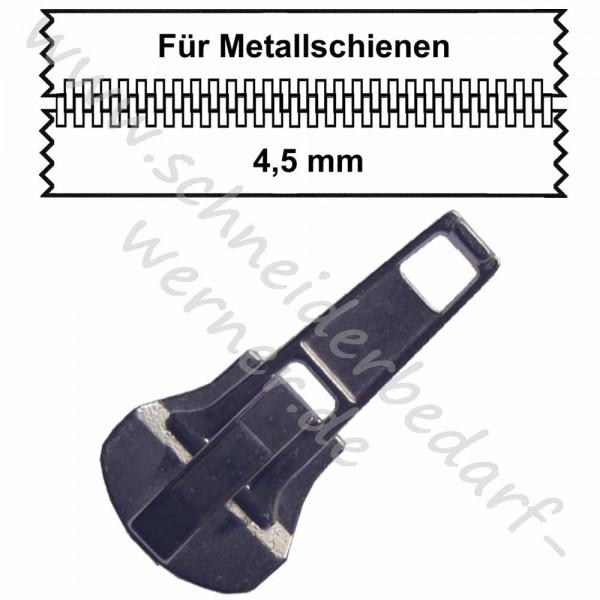 4,5 mm - Zipper/Schieber für Metallschiene