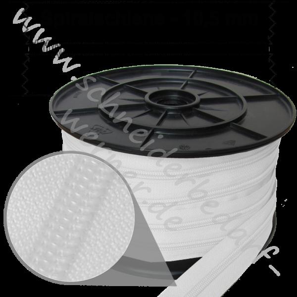 10,5 mm - Reißverschluss Spiralschiene (Kunststoff) - Meterware