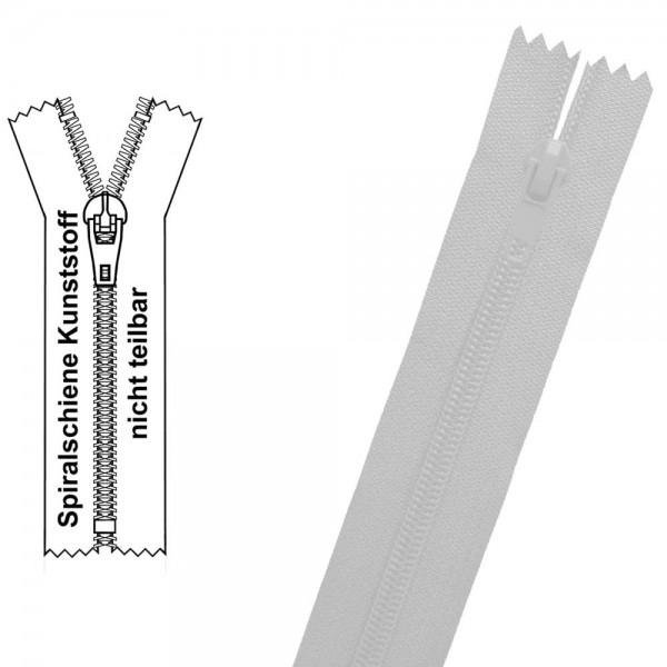 Reißverschluss für Bettwäsche / Kissen - 3 mm Spiralschiene (Kunststoff) - 1-Weg - Nicht Teilbar