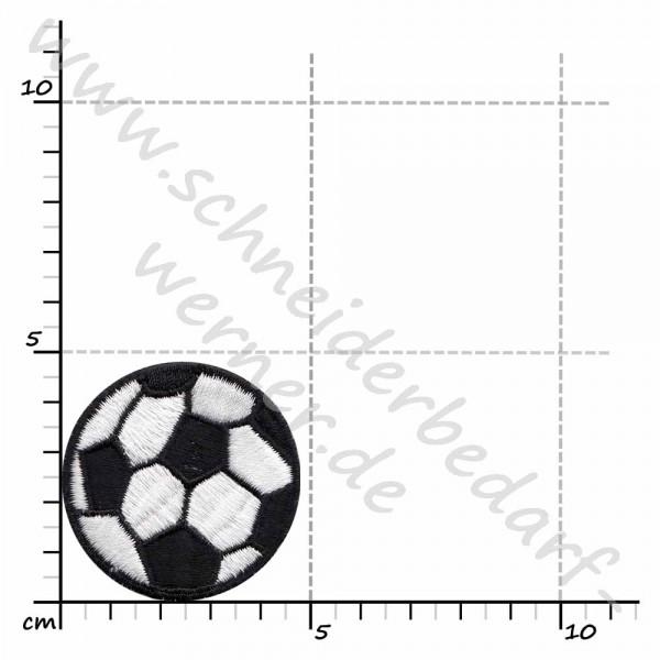 Applikation zum Aufbügeln (Fußball)