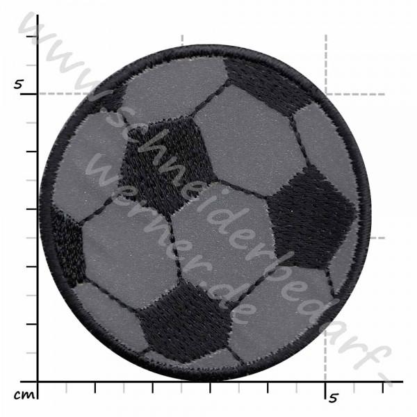 Reflektierende Applikation zum Aufbügeln (Fußball)