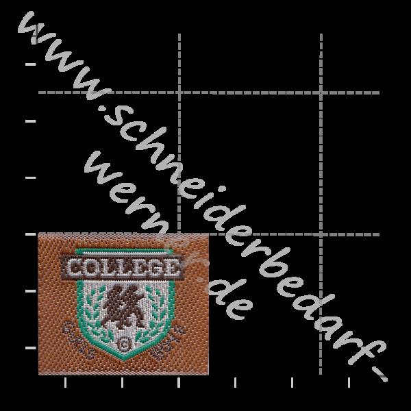 Motiv-Flicken zum Aufbügeln (College)