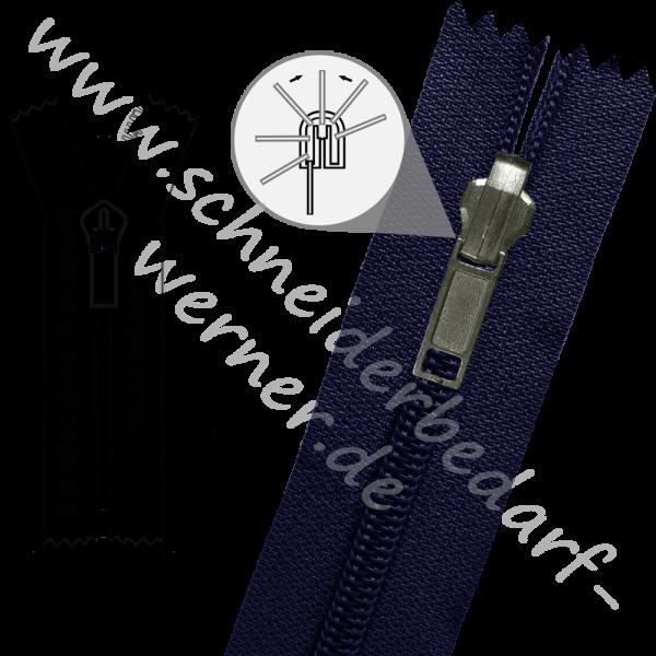 6 mm - 1-Weg-Wende-Reißverschluss (Spiralschiene (Kunststoff)) - Nicht Teilbar